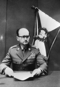 Generał Wojciech Jaruzelski, stan wojenny 13.XII.1981